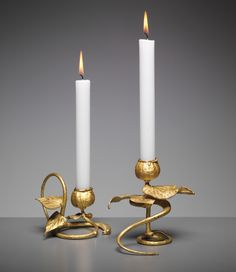 Claude LaLanne - PHILLIPS : UK050213, CLAUDE LALANNE, Pair of candlesticks