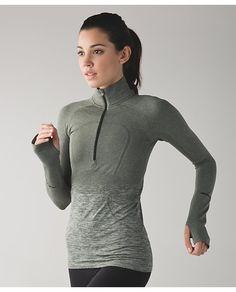 swiftly tech 1/2 zip   women's long sleeve running tops   lululemon athletica
