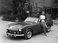 60s Triumph Spitfire and fashion