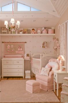 so romantic pink nursery