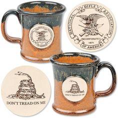 NRA Gadsden Stoneware Mug Official Store of the National Rifle Association