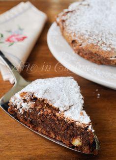 Torta cioccolato e mandorle veloce senza farina vickyart arte in cucina