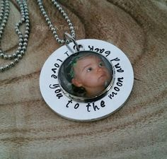 """Fotoketting """"I love you to the moon and back"""""""