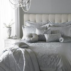 I imagine the sheets are smooth & cool.. The room silent and a heavenly nap about to take place..
