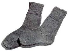 This sock pattern has sizes for ages 5-7 and 8-10 I might be able to knit these for my brother