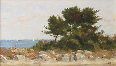 Nicholas Berger, Sea Pine, study, oil on board, 4 X 8 inches Cavalier, Pine, Study, Sculpture, Sea, Gallery, Board, Artist, Photography