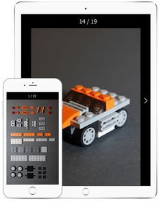 Cool Instructions for Lego - Mobile App