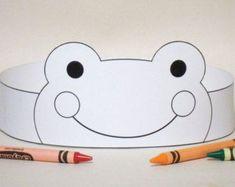 Pig Paper Crown COLOR YOUR OWN Printable par PutACrownOnIt sur Etsy