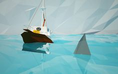 #low #poly #design #cinema4d #movie #scene