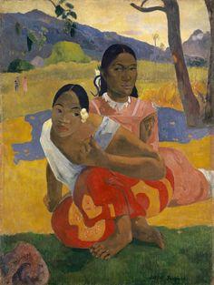 27. Nafea Faa Ipoipo. Paul Gauguin