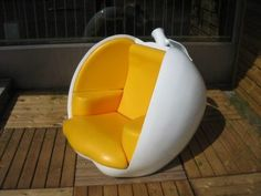 Apple Chair from Bedzine.  oooohhhh... so fun in a nursery. If only I had $3000 to spend on baby furniture. ;-)