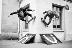 Pontus alv polar skateboards wallride