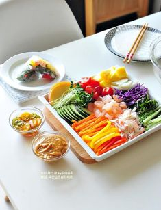 Korean Food, Easy Cooking, Food Art, Sushi, Vegan Recipes, Keto, Pasta, Salad, Snacks