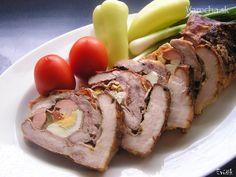 Mäsová roláda v parnom hrnci (fotorecept) - Recept