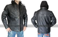 """Activate your bold impression to choose this clothing of Terminator Genisys Arnold Jacket. An actor Arnold Schwarzenegger wore this outfit in the movie """"Terminator"""" that looks fabulous."""