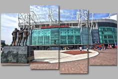 Old Trafford Manchester United Football Stadium by RwHPhotography