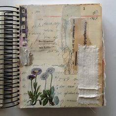 The Journal Diaries- Tina's Collage Journals