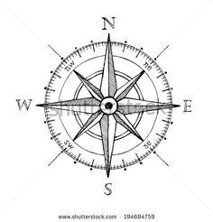 Resultado de imagen de vintage nautical charts compass rose