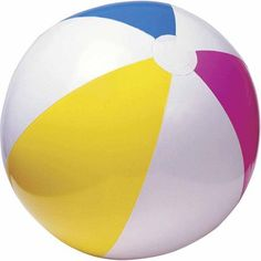 "Largest size I've seen. Best price.I like the classic beach ball look too. Might be pink instead of red? Economy 48"" Beach Ball $12.71"