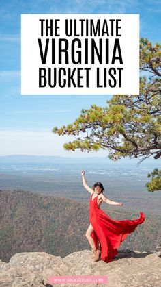 Virginia bucket list to all the best places to visit in Virginia. The Virginia travel guide on what to see, kid friendly activities, and fun things to do in Virginia. Plus all the best photo spots and hikes in Virginia. Virginia travel, road trips, hiking, mountains. outdoors, shenandoah, shenandoah national park, blue ridge mountains, luray caverns, washington dc weekend trip, america, usa road trip Best States To Visit, Usa Places To Visit, Visit Usa, Beautiful Places To Visit, Usa Travel Guide, Travel Usa, Travel Tips, Travel Ideas, Travel Inspiration
