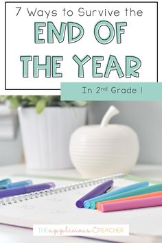 Ideas for surviving the end of year in 2nd grade! Love all the easy suggestions and ideas for EOY in this post. TheAppliciousTeacher.com 2nd Grade Activities, End Of Year Activities, Classroom Activities, Best Teacher Gifts, Teacher Hacks, Student Gifts, Elementary School Counseling, School Counselor, Second Grade Writing