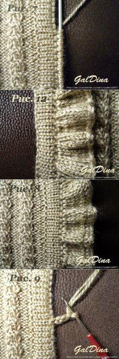 Knitting Pattern-simple et rapide natté baby blanket