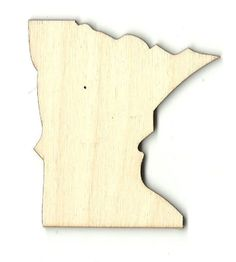 Wooden Pieces 71178: Minnesota - Unfinished Laser Cut Out Wood Shape Craft Supply -> BUY IT NOW ONLY: $30.52 on eBay!