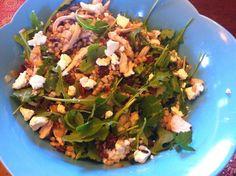 """Point-less"" Meals: Cherry, Chicken, Pecan Barley Salad"