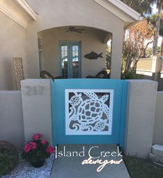 Custom Exterior PVC Vinyl Shutters w/ Nautical Cutouts, Decorative Exterior PVC House Trim, Nautical Vinyl Porch Railing Panels & Gates. Coastal Bathrooms, Coastal Flooring, Coastal Entryway, Beach House Decor, Coastal Design, Exterior Vinyl Shutters, Coastal Cottage, Coastal Architecture, House Trim