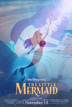 Story: In which a mermaid gives up her tongue and her voice so that she can pursue a prince who doesn't love her anyway.  Movie: In which a mermaid engages in whimsical musical numbers and marries a perfect prince.