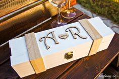 Personalized Wine Box Wood Engraved Wedding - Valentines Day, Wine Ceremony…
