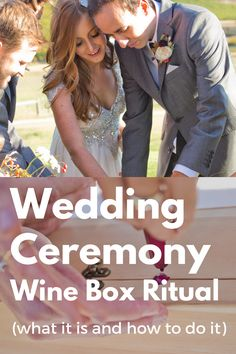 How to do this wedding ceremony ritual for wine lovers