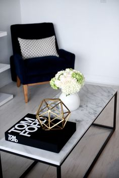 How to Style a Coffee Table | It is a center point of every formal and casual living area, so why not showcase it as a focal point?
