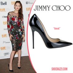 Kristen Stewart in Jimmy Choo 'Anouk' pumps to the premiere of 'On the Road' at the 2012 Toronto Film Festival.