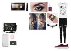 """""""Shopping Day"""" by camillaknudsen on Polyvore featuring Miss Selfridge, Vans, Maybelline, NARS Cosmetics, Essie, Torrid and Topshop"""