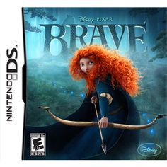 "Disney Pixar Brave: The Video Game for Nintendo DS - Disney Interactive - Toys ""R"" Us Video Games Xbox, Ds Games, Xbox 360 Games, Disney Pixar, Heros Disney, Disney Movies, Walt Disney, Cry Anime, Anime Art"