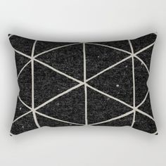 Rectangular Pillow featuring Geodesic by Terry Fan
