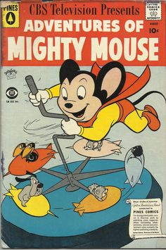 mighty mouse | ADVENTURES OF MIGHTY MOUSE No.144 AUG 1959.jpg