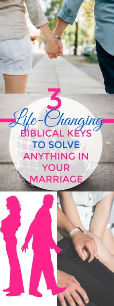 Start having an AMAZING marriage and solve any marital problems with this Biblical keys