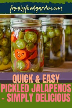 This quick and easy pickled jalapeños recipe is simply appetizing that you cannot turn it down. It is great for topping on all your favorite Mexican foods like nachos, tacos, and enchiladas! Click this pin for the canned jalapeños recipes, including jalapeños jelly. #mexicanfood #pickledjalapeno #foodinajar #homecanning #canningrecipe Canned Jalapenos, Pickling Jalapenos, Kids Meals, Family Meals, Basic Brine, Mexican Food Recipes, Healthy Recipes, Healthy Fruits And Vegetables, Jelly Recipes