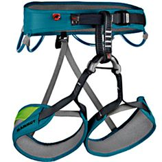 Mammut Ophira Harness. The Ophira offers excellent value for money combined with convincing Mammut quality.   at www.weighmyrack.com/ #rock #climbing #gear