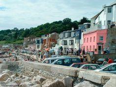 Lyme Regis, my favorite place in England.