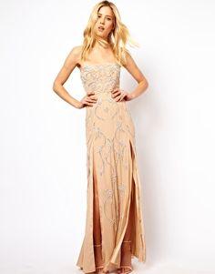 Needle & Thread Ornate Maxi Prom Dress..