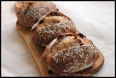 簡単!!クランベリーとクルミのライ麦パン