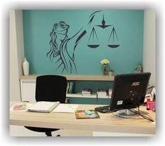 Affordable Law Office Decor Ideas 23 - Home Decor Law Office Design, Law Office Decor, Office Setup, Home Office Desks, Office Interior Design, Office Interiors, Office Designs, Office Ideas, Grey Interior Doors