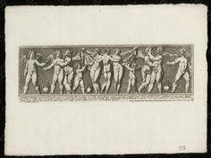 """Bibliothèque de Valenciennes, """"Amour, Psychée et les Trois Grâces"""", estampe, 1693"""