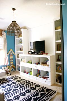 Playroom Ideas, the light pendant caught my eye