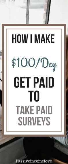 How I Start Make Money Just By Taking Paid Surveys ? Do you wanna earning some money from home ? I have a website where you can start. Make Money Taking Surveys, Online Surveys For Money, Earn Money Online, Best Online Survey Sites, Survey Sites That Pay, Work From Home Jobs, Make Money From Home, How To Make Money, Legit Paid Surveys