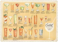 Classic drink suggestions