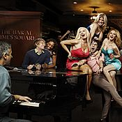 The Bar at Times Square in New York New York offers a fun dueling piano show that shouldn't be missed.